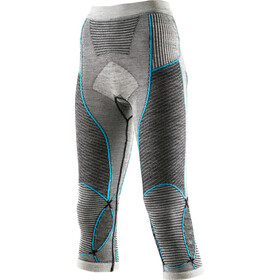 X-Bionic Apani Merino By X-Bionic Fastflow Medium Broek Dames, medium black/grey/turquoise